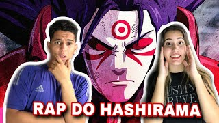 REACT - Rap do Hashirama (Naruto) - O PRIMEIRO HOKAGE   NERD HITS