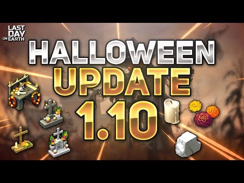 LEAKED HALLOWEEN 1.10 UPDATE! - Last Day on Earth: Survival