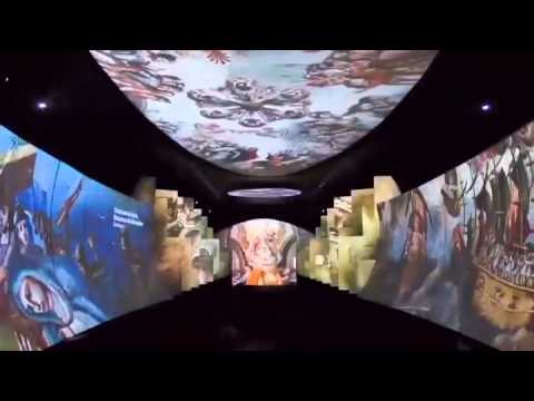 """""""México Patrimonio Mundial"""" sala multimedia"""