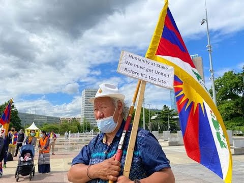 Tibetans hold protest against China in Geneva