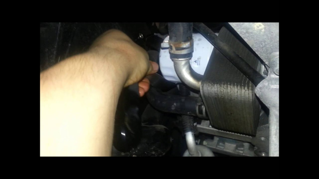 2010 2013 Ford Fiesta Oil Change