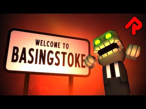 BASINGSTOKE gameplay: Zombie Apocalypse in a Nice English Town! (PC & Mac game)