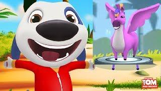 МОЙ ГОВОРЯЩИЙ ХЭНК #177игра мультфильм  Говорящий Том и Анджела видео для детей #Мобильные игры