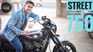 Riding ₹700000 Super Bike In Guwahati | Harley Davidson Street 750.