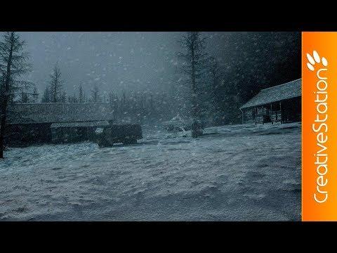 Snowy Hillside - 3D Speed art (#Cinema4D, #Photoshop) | CreativeStation