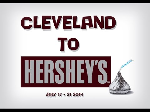 Hershey Park Pennsylvania Adventure from Cleveland Ohio with Paramore Concert Footage July 2014