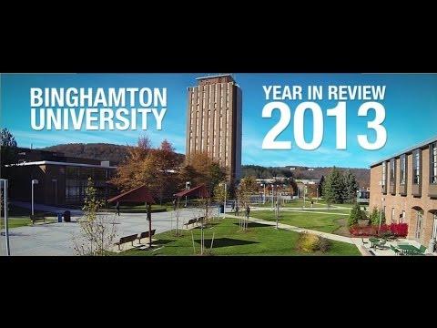 Binghamton University Year in Review -