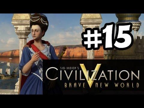 Civilization 5 Brave New World - Gameplay Walkthrough Part 15 - Archaelogy Find (Let's Play)