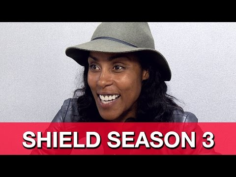 Agents of SHIELD Season 3 & 2   Christine Adams on Inhumans, Coulson's Hand & Weaver
