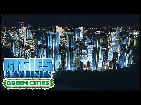 Mein Stadt bei Dunkelheit! | Cities: Skylines S3 #23 - Green Cities