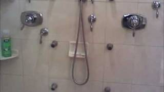 Shower Body Jets