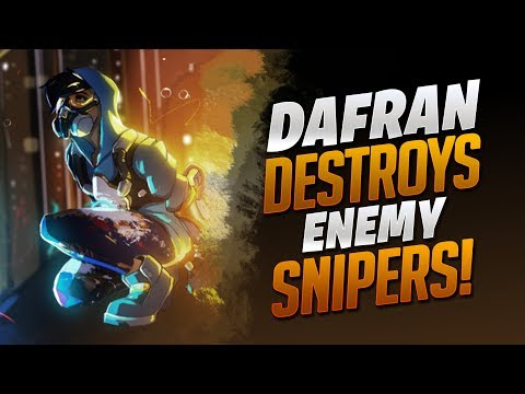 Dafran Destroys Enemy Snipers! - Overwatch - Stack Vid