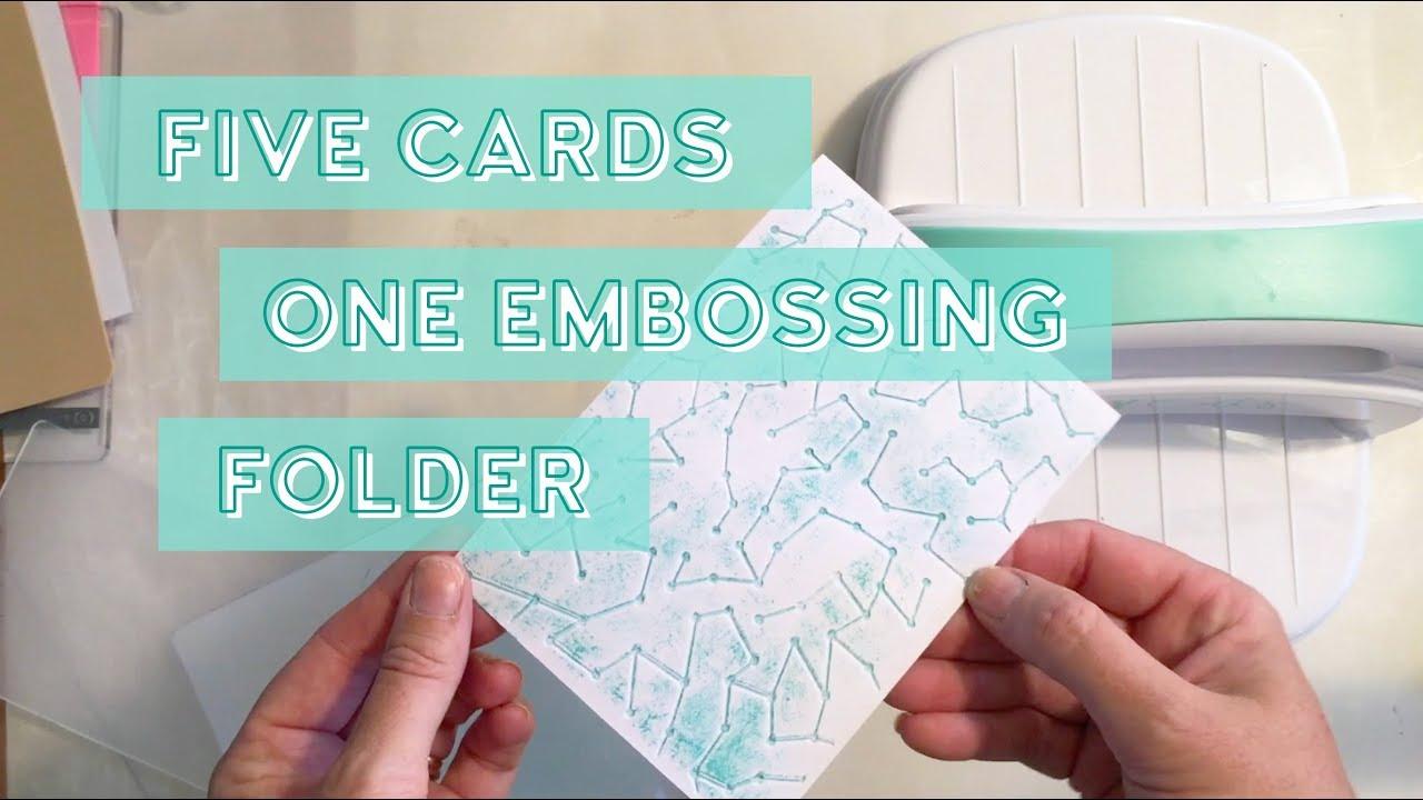 Kaisercraft Embossing Folder 4X6-Scales