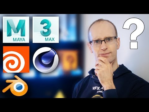 What is the BEST 3D Software? Maya vs 3dsMax vs Cinema 4D vs