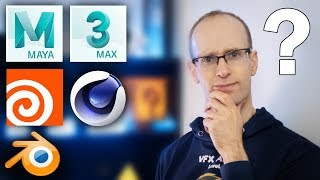 Was ist der BESTE 3D-Software? Maya vs 3dsMax vs Cinema 4D vs Houdini vs Blender