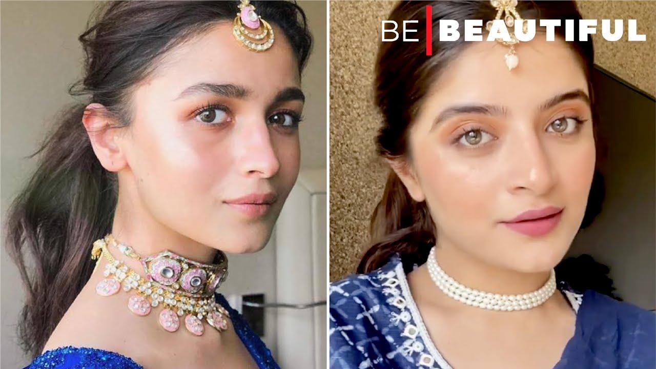 Alia Bhatt Inspired Makeup   Makeup Tutorial   Bollywood Inspired   Be Beautiful