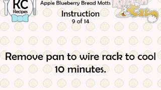 Apple Blueberry Bread Motts - Kitchen Cat