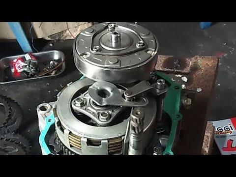 Honda Dash 110/ex5 110(new) Part 2-clutch Installation