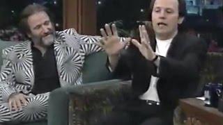 Robin Williams & Billy Crystal Leno Tonight Show 1997
