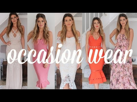 asos-plt-missguided-occasion-dresses-haul-&-try-on---wedding-guest-outfit-ideas-on-a-budget