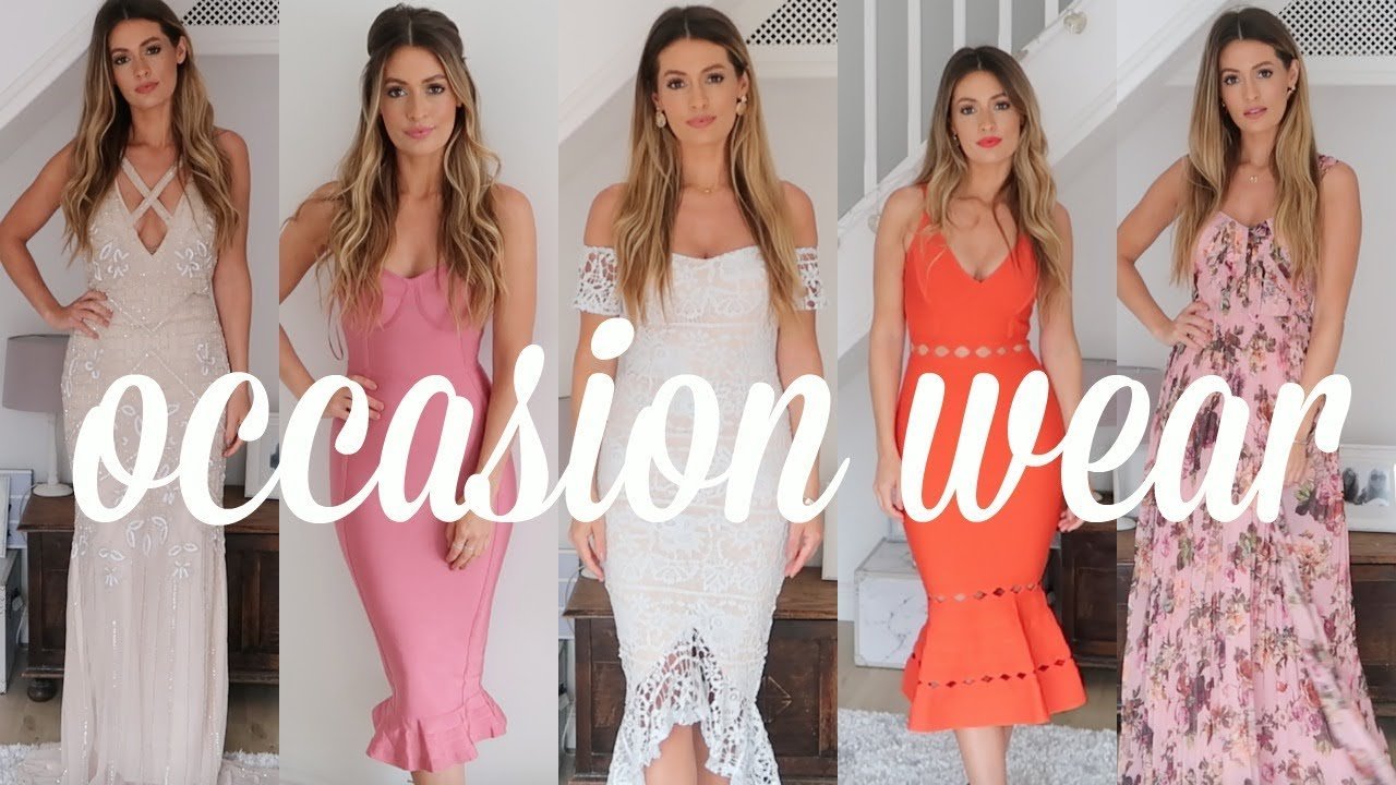 [VIDEO] - ASOS PLT MISSGUIDED OCCASION DRESSES HAUL & TRY ON - Wedding guest outfit ideas on a budget 5