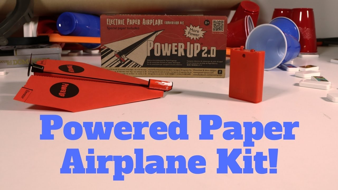 motorized paper airplane kit power up 2 0 paper airplane motor