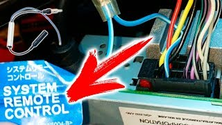 Как подключить к автомагнитоле антенну через адаптер-переходник