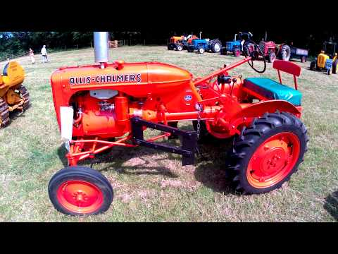 1948 Allis-Chalmers Model B 1.9 Litre 4-Cyl Gasoline Tractor (22HP)