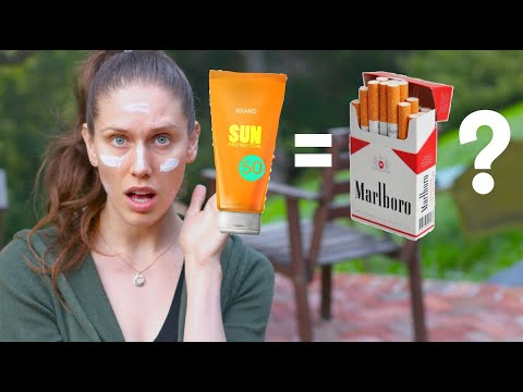 Is Sunscreen The New Margarine? Is Using Sunscreen As Bad As Smoking Cigarettes?  Here's The Truth.