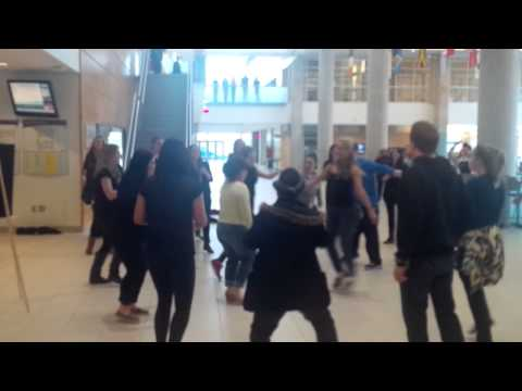 HRM Flash Mob - NSCC Waterfront Campus