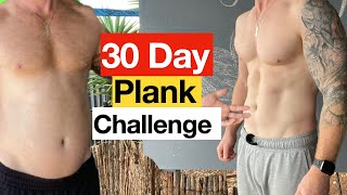 I did the plank challenge for 30 days with realistic results screenshot 5