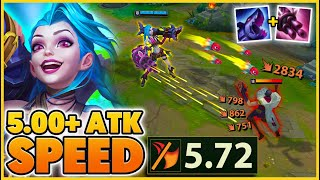 NEW SEASON 11 ATTACK SPEED RECORD (WTF INTERACTION) - BunnyFuFuu | League of Legends