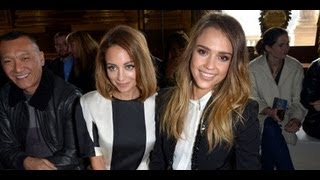 Nicole Richie, Jessica Alba, and More Celebrity Looks Front Row | Paris Fashion Week
