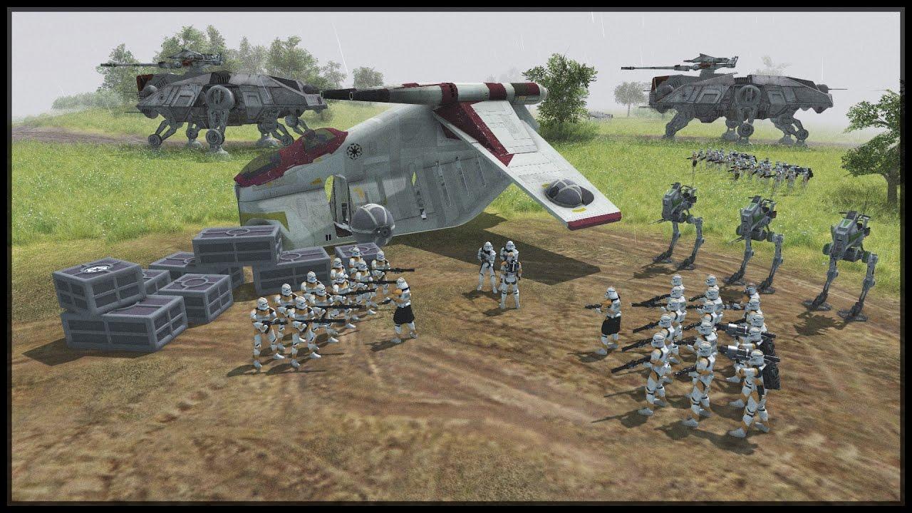 CLONE INVASION OF RAVAAN - Star Wars Mod - Men Of War ...