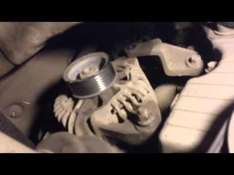 как снять генератор на киа сид 2007