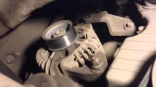 як зняти генератор Hyundai Santa Fe