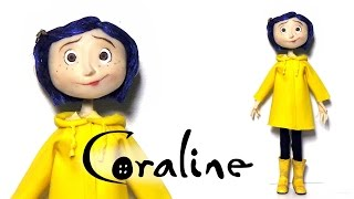 Coraline Inspired (Poseable) Doll - Polymer Clay Tutorial