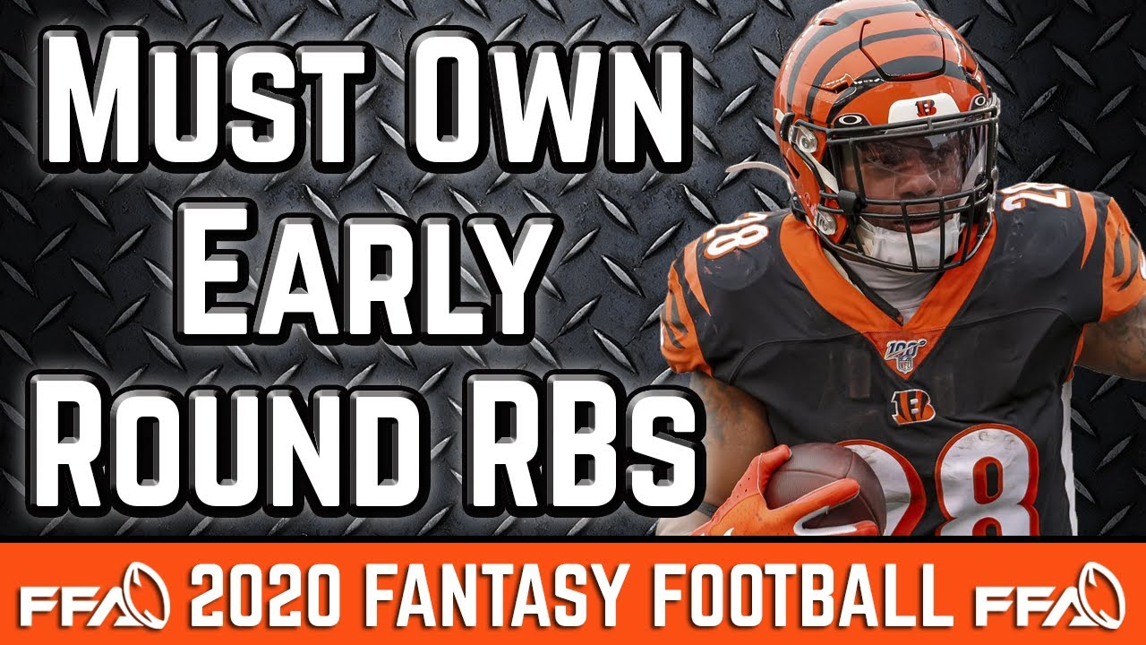 MUST OWN Early Round Running Back Targets - 2020 Fantasy Football Advice