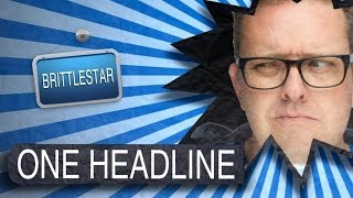 That's a Terrible Painting of Jesus - ONE HEADLINE @Brittlestar