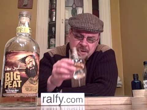 whisky review 98 - Big Peat (Blended Islay Malt)