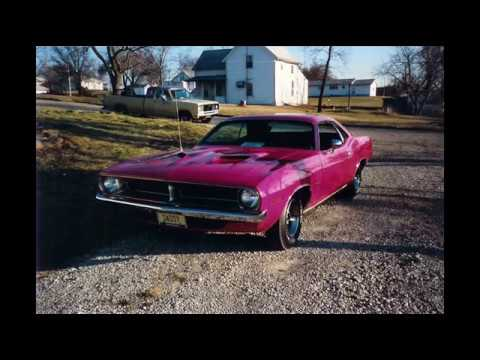 1970 Panther Pink Plymouth Barracuda Restoration Process
