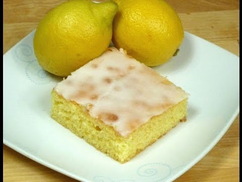 Zitronenkuchen vom Blech selber machen