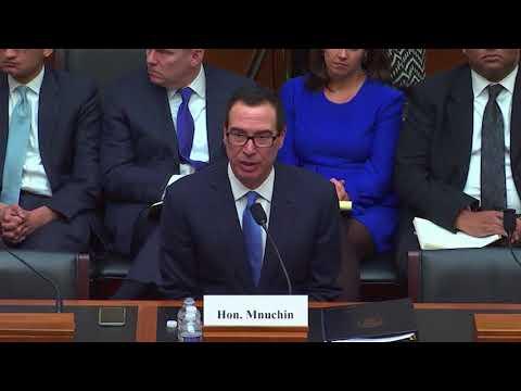 Rep. Rep. Royce Discusses Credit Risk Transfers with Treasury Secretary Munucin