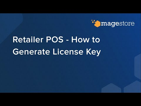 Retailer POS - How to Generate License Key