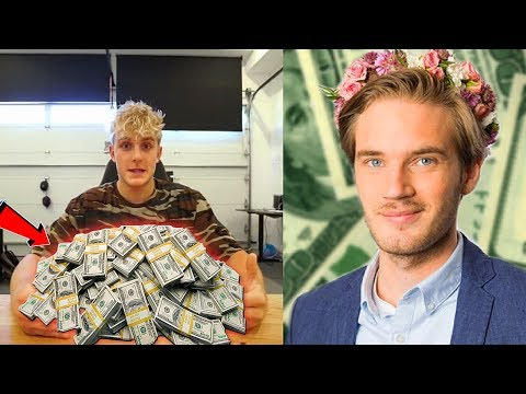 Thumbnail: TOP 10 RICHEST YOUTUBERS OF 2017! (Jake Paul, PewDiePie, RomanAtwood)