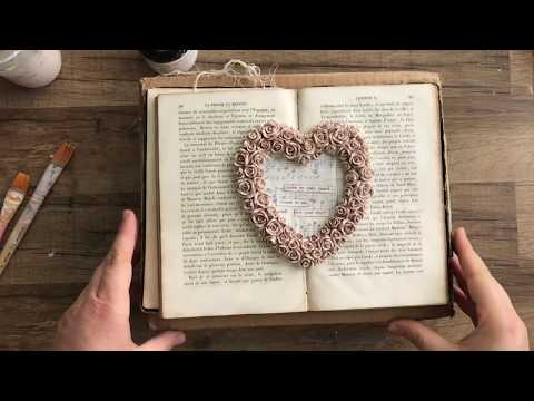 Have an Open Heart Resin Frame Project Tutorial by Stampington & Company