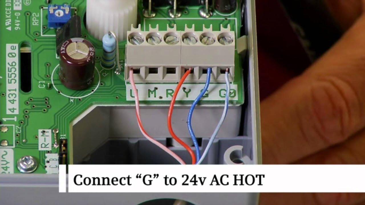 Siemens Wiring an SQS65U Actuator with Modulating Control Signal  YouTube