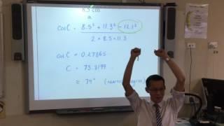 HSC Mathematics General Trigonometry Quiz (1 of 2: Basic questions)