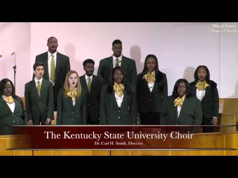 """March 15, 2016 March Gladness 2016 """"Kentucky State Choir Concert"""" ASBC"""