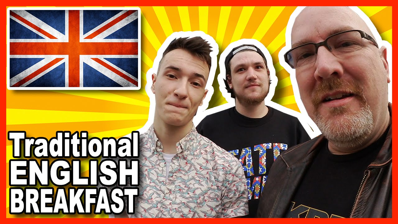 Traditional English Breakfast in Southampton England Review with Lewis and Harry